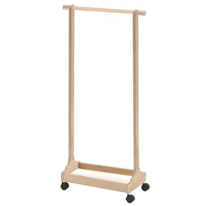 ネイキッズ ハンガーラック 幅60×高さ120cm ナチュラル KDH-1539NA|furniture-direct
