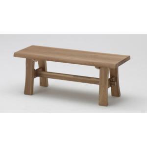 古彩 ベンチ ダイニング 椅子 ベンチ 幅108cm オイル塗装 木目が綺麗 天然木|furniture-direct