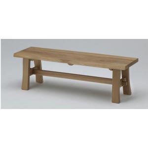 古彩 ベンチ ダイニング 椅子 ベンチ 幅138cm  オイル塗装 木目が綺麗 天然木|furniture-direct