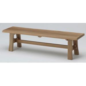 古彩 ベンチ ダイニング 椅子 幅155cm オイル塗装 木目が綺麗 天然木|furniture-direct
