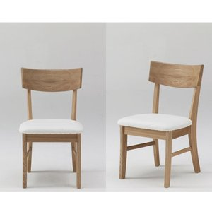 古彩 椅子 ダイニングチェア タイプ5(クッション座面) オイル塗装 木目が綺麗 天然木|furniture-direct