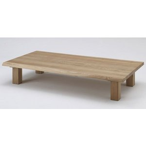 古彩 ローテーブル センターテーブル 座卓 KO-Z180 180cm オイル塗装 木目が綺麗 天然木|furniture-direct