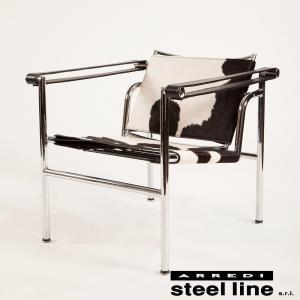 lc1 スリングチェア ポニー毛皮 ル・コルビュジエ デザイン イタリア製|furniture-direct