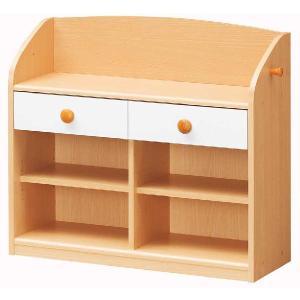 お片付け ランランラック 収納チェスト お片付けを小さいうちから身につけましょう。|furniture-direct