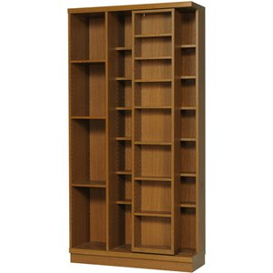 スライド書棚 雅 PM-90 高級 幅900×高さ1780mm 完成品|furniture-direct