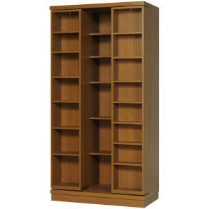 スライド書棚 雅 sm-90 高級 幅900×高さ1780mm 完成品|furniture-direct