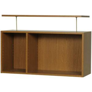 スライド書棚 雅UM-90上置き 完成品|furniture-direct