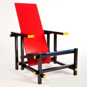 レッド&ブルーチェア  リートフェルト  イタリア スティールライン社 steelline|furniture-direct
