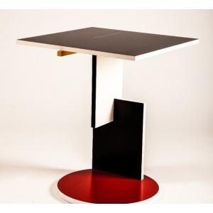シュローダー1 リートフェルト テーブル Schroeder1 イタリア製 スチールライン社|furniture-direct