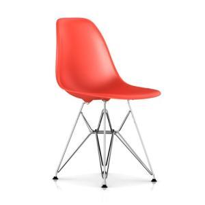 イームズ プラスチック シェルチェア DSR CH クロームベース エッフェル脚 Shell-chair-DSR ハーマンミラー|furniture-direct