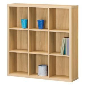ラック セパルテック 収納棚 シェルフ SEP-1111 三列三段 A4ファイル収納可能 A4ファイルBOX|furniture-direct