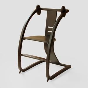 ベビーチェア バンビーニ 佐々木デザイン STC-04 ウオールナット ライトブラウン バンビーニ|furniture-direct