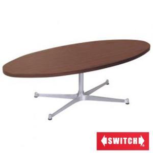SWITCH スイッチ TA-Lダイニングテーブル センターテーブル だ円テーブル ローテーブル|furniture-direct