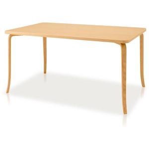 食堂テーブル ダイニングテーブル T2712MP-NT 幅1400mm 天童木工|furniture-direct