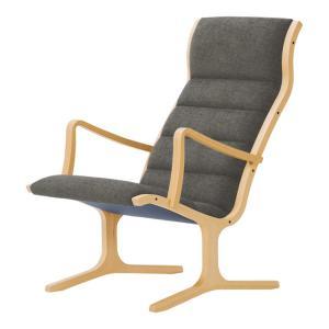 ヘロン ハイバックチェア パーソナルチェア Bランク布 天童木工 T-3243WB|furniture-direct