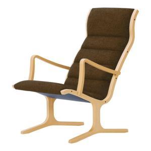 ヘロン ハイバックチェア パーソナルチェア Aランク布 天童木工 T-3243|furniture-direct