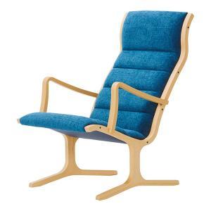 ヘロン ハイバックチェア パーソナルチェア Cランク布 天童木工 T-3243|furniture-direct