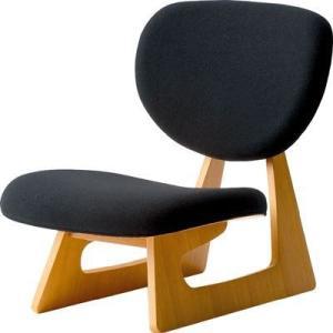 天童木工 低座椅子 Bランク布 低座イス 長大作デザイン|furniture-direct