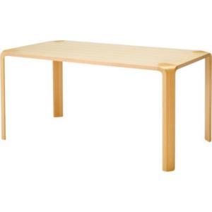 天童木工 食堂テーブル ダイニングテーブル T2079WB NT W1500×D800×H700mm|furniture-direct