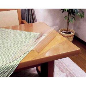 透明テーブルマット 両面非転写  TR2-1358 (800×1350 )mm 定型サイズ|furniture-direct