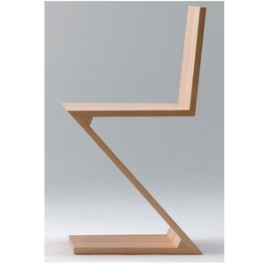 ジグザグチェア ヘリット・トーマス・リートフェルト  イタリア スティールライン社 steelline|furniture-direct