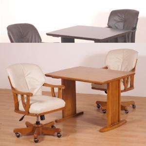 ダイニング テーブル 3点セット 回転式 多機能チェア COLINZ-34-40-45 |furniture-hayamizu