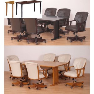 ダイニング テーブル セット 7点 大型 180×90 多機能チェア 6-040-colinz |furniture-hayamizu