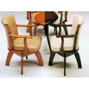 ダイニングチェアー 肘付き 回転式 COUPE furniture-hayamizu