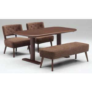 ダイニング テーブル セット 大型 4点 150×80 ベンチタイプ TM150|furniture-hayamizu