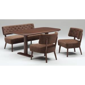 ダイニング テーブル セット 大型 4点 150×80 ソファタイプ TM150|furniture-hayamizu