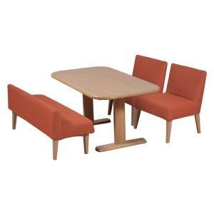 ダイニング テーブル セット 4点 150 大型 カバーリングタイプ ソファタイプ YARSU|furniture-hayamizu