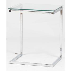 サイドテーブル ガラス クリア PT-15CL |furniture-hayamizu