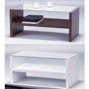 リビングテーブル HAB-621 [ ブラウン/ホワイト]|furniture-hayamizu
