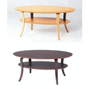 リビングテーブル 楕円形 曲木脚 100×60 NET-406 |furniture-hayamizu