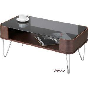 センターテーブル ガラス 80×41 PT-581 ルーマスコーヒーテーブルS|furniture-hayamizu