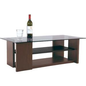センターテーブル ガラス100×50 SO-100BR|furniture-hayamizu