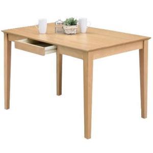 ダイニングテーブル 120×76 引き出し付き COMET |furniture-hayamizu
