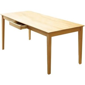 ダイニングテーブル 大型 165×76 引き出し付き COMET |furniture-hayamizu