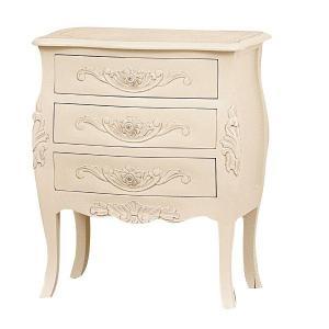 55 チェスト アンティーク調 ヨーロピアンテイスト家具 [ホワイト/ブラウン] furniture-hayamizu