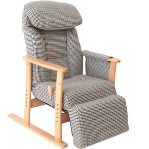 【梢】フットレスト付高座椅子 No.83-818|furniture