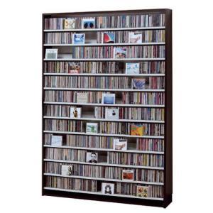 CDストッカー CS1668 ダーク CD1668枚収納 CDとDVDの収納家具 の商品画像