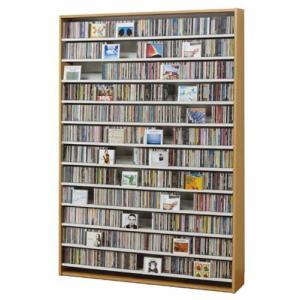 CDストッカー CS1668 ナチュラル CD1668枚収納 (CDとDVDの収納家具)|furniture