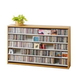 CDストッカー CS695L ナチュラル CD695枚収納 (CDとDVDの収納家具)|furniture