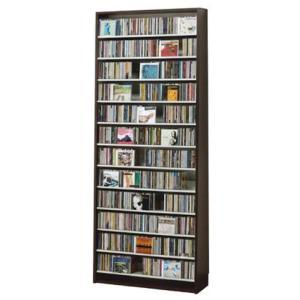 CDストッカー CS924 ダーク CD924枚収納 (CDとDVDの収納家具)|furniture
