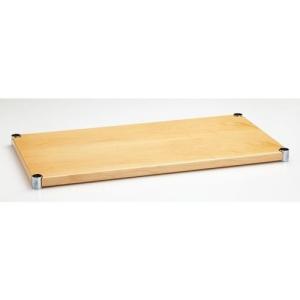 ホームエレクター ウッドシェルフ H1848WM1 間口1200mm × 奥行450mm メイプル (1枚入)|furniture