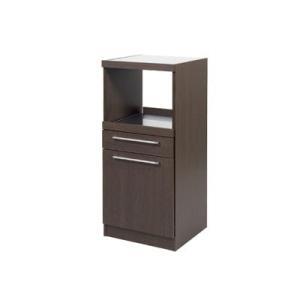 フナモコ コンパクト レンジ台 WR-15 レベッカオーク 幅48cm|furniture