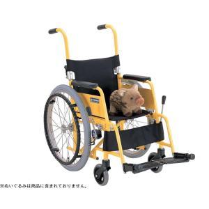 アルミ自走車いす 子供用 KAC-N28  / フレームレッド 1台