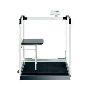 医療・福祉関連 車椅子用体重計・精密体重計 ・ワイヤレスで測定値を専用プリンターやPCに送信可能。・...