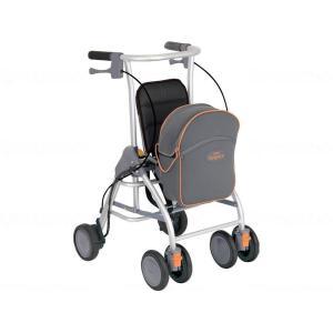歩行関連商品 歩行車 シルバーカータイプ コメント小さくても安心。コンパクトに進化したロボット歩行車...