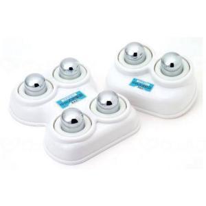 中山式快癒器 強弱機能付 2球式 白 2球式の商品画像|ナビ